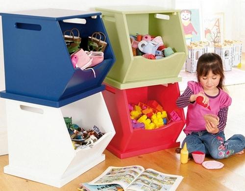 Ящики для детских игрушек