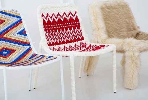 Оригинальные чехлы на стулья