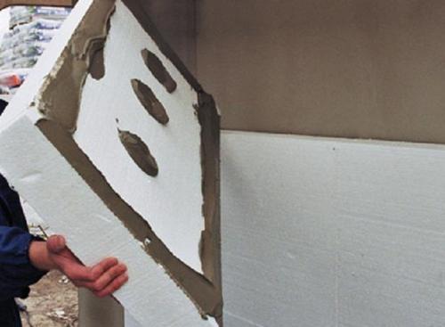 Утепление стен пенопластом снаружи дома