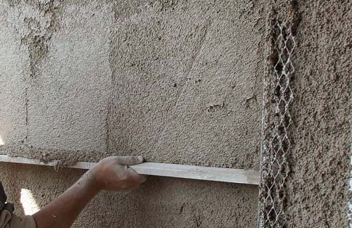 Теплая штукатурка для стен снаружи