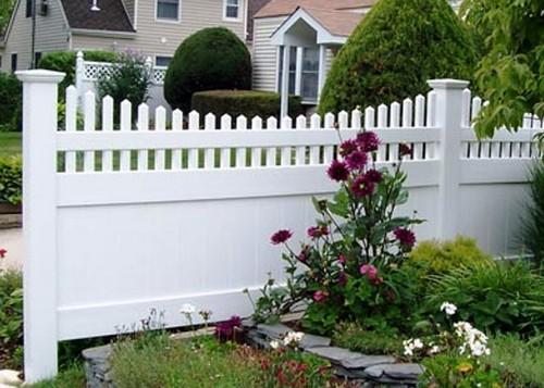 забор садовый пластиковый