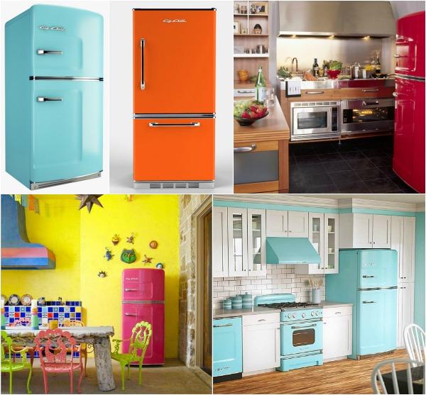 Роскошные ретро холодильники Big Chill фото