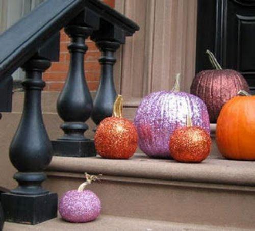Декоративные украшения из тыквы фото
