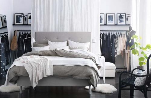 Мягкие коврики в спальню округлой формы
