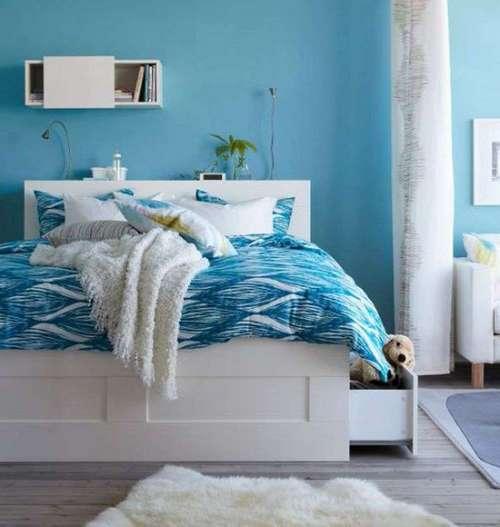Прикроватные коврики белые