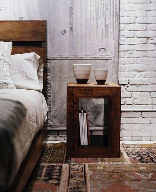Прикроватный коврик в стиле пэчворк