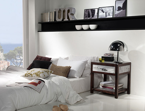Современные прикроватные тумбочки фото