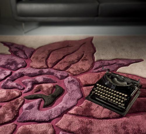 ковры с рельефным рисунком