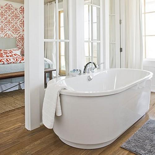 ванная комната в спальне фото