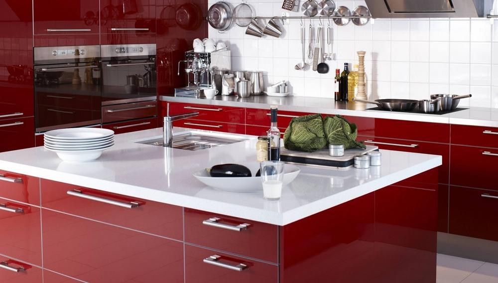 Как расставить мебель и технику на кухне