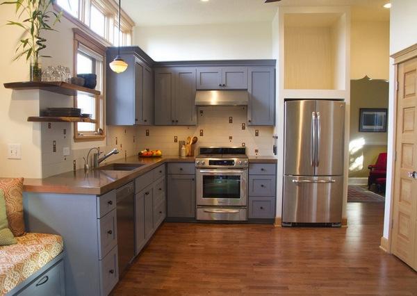 как расположить технику на кухне