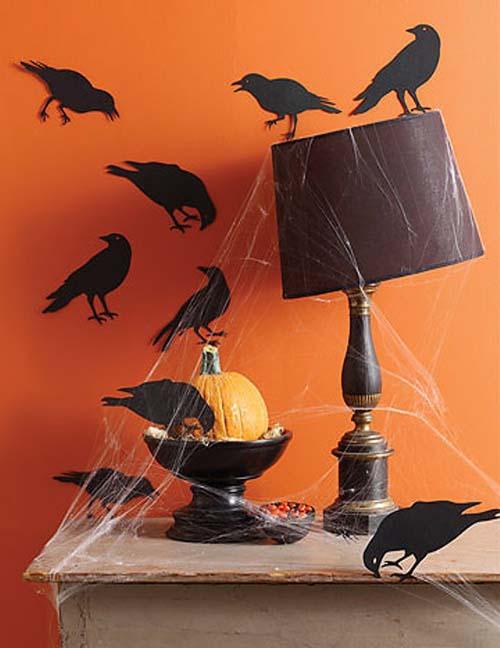 Красивые декорации для украшения дома к Хэллоуину