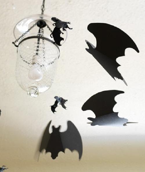 Как устроить Хэллоуин дома - украшение комнаты