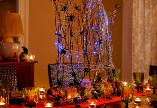 Как отметить Хэллоуин дома - праздничный стол