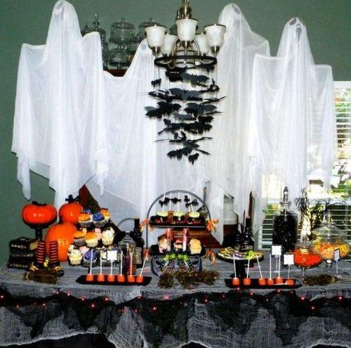 Как устроить Хэллоуин дома