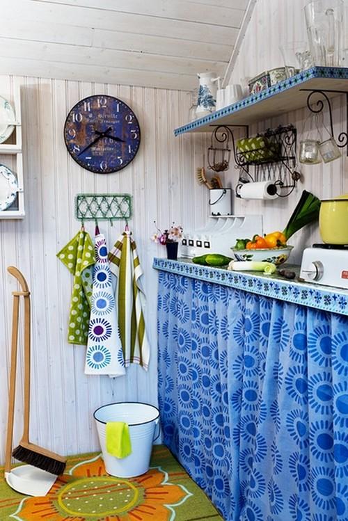 Бохо шик в интерьере кухни