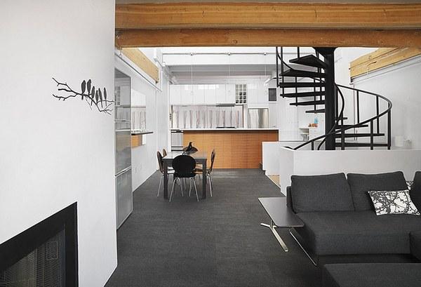 двухуровневая квартира студия