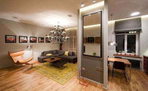 обстановка квартиры студии