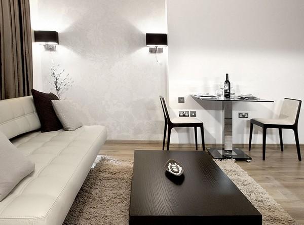 Современная мебель для квартиры студии