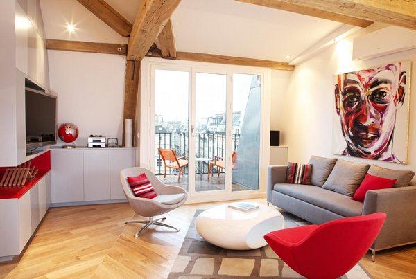 Дизайн современной квартиры-студии фото
