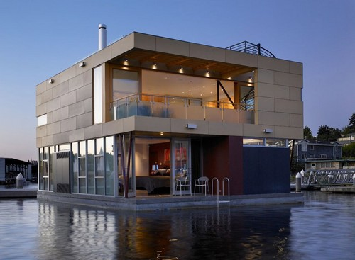 Дебаркадеры дома на воде фото