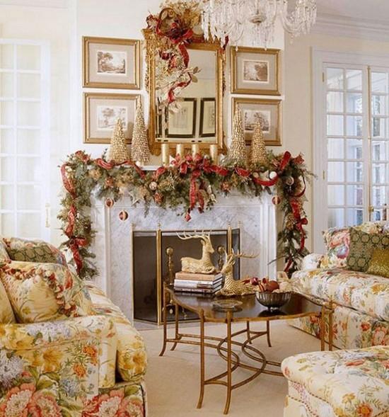 Украшение дома к Новому 2014 году
