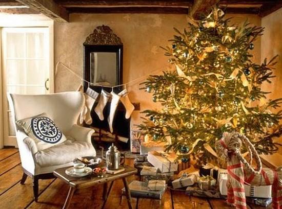 Украшение дома на новый год 2014 фото