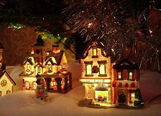 Новогодние украшения для дома 2014 фото