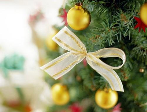 Как украсить елку на Новый год 2014