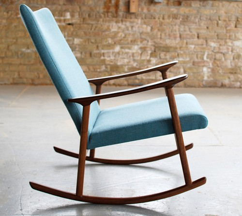 Кресло качалка для дома фото