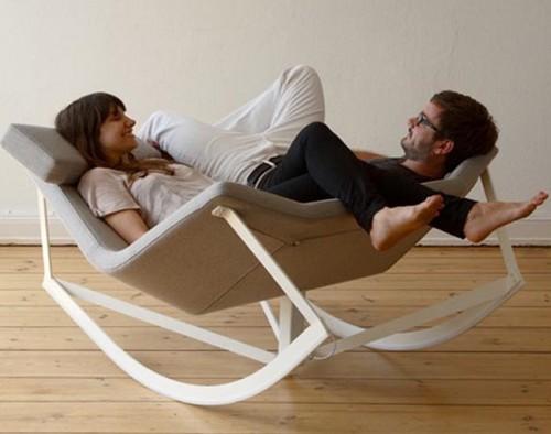 Кресло качалка для двоих