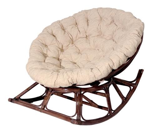 Ротанговое кресло-качалка