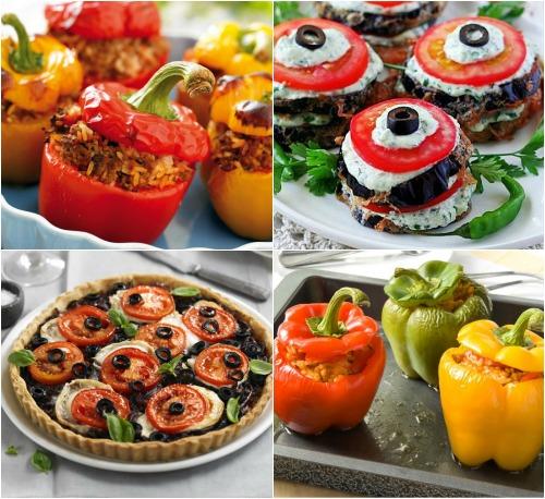 Овощные закуски на Новый год 2014