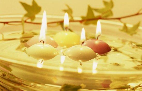 Ароматы для дома - плавающие свечи