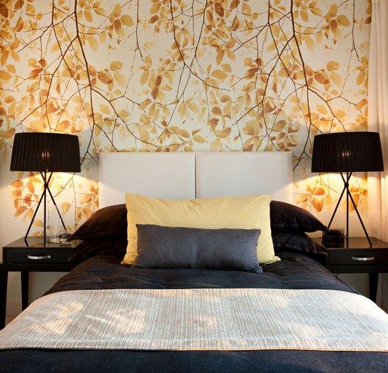 золотая спальня фото