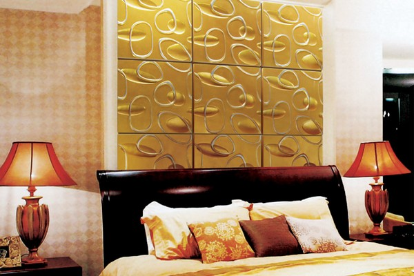 Панели 3Д для спальни