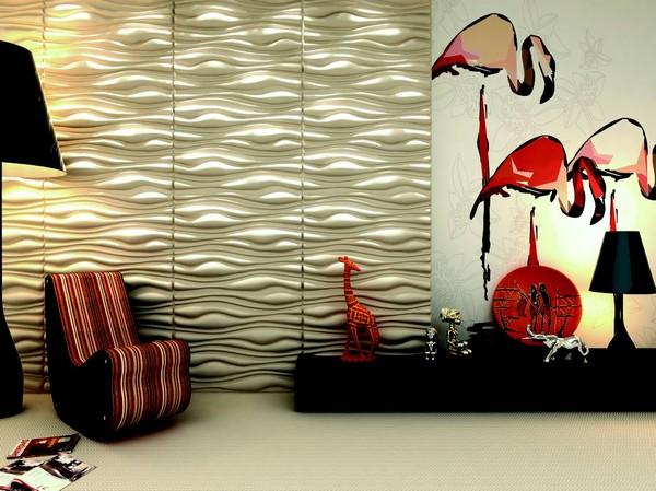 Красивые 3D панели для стен