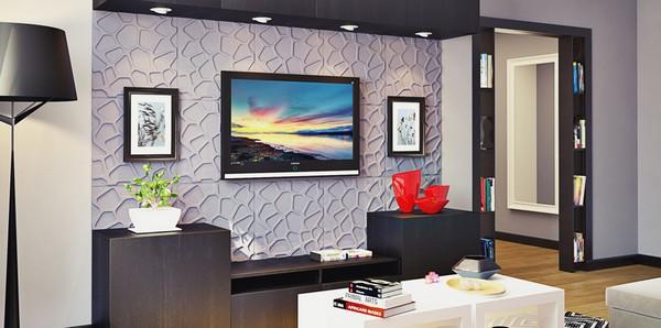 декоративные 3Д панели для стен