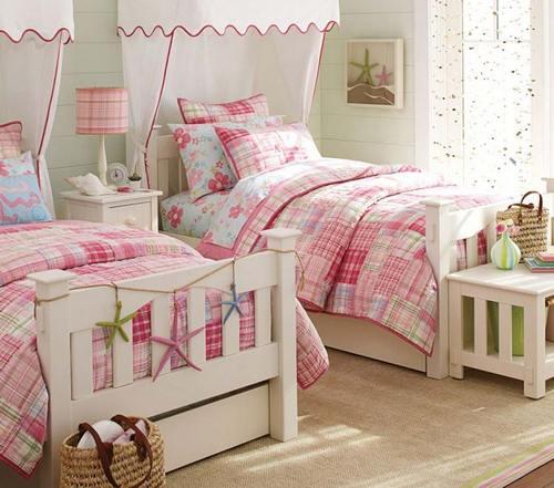комната для двойняшек девочек фото