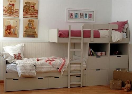 модели детских двухъярусных кроватей