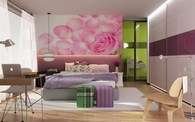Дизайн комнаты для молодой девушки