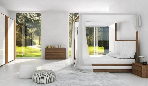 Очень красивая спальня для девушки