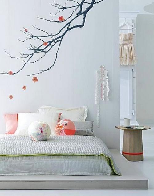 Оформление комнаты для девушки в стиле дзен
