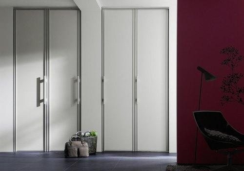 Складные двери-гармошка в интерьере фото