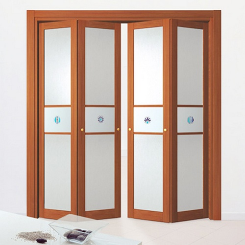 Дверь-гармошка для шкафа фото
