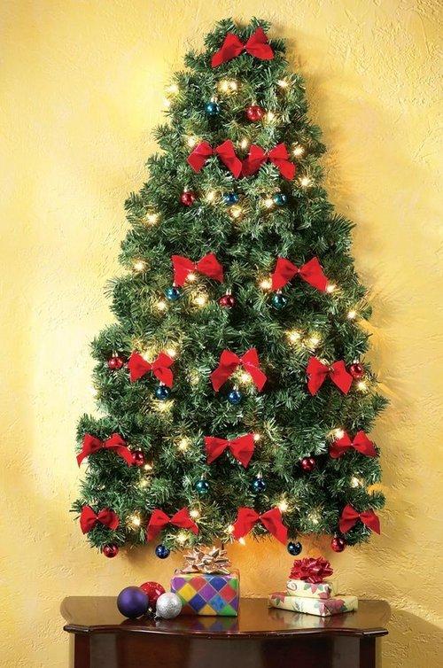 Настенная елка фото
