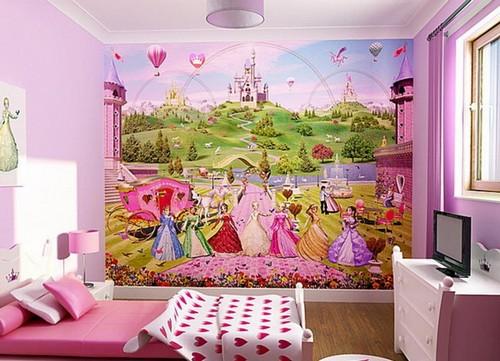 Фотообои на стену 3D детские