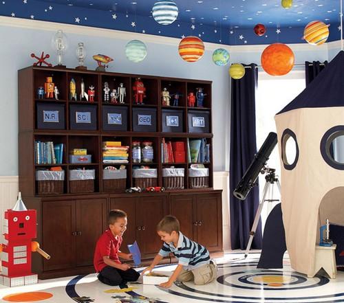 Игровая зона в детской комнате для мальчиков фото