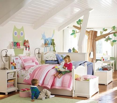 Как обустроить игровую зону в детской фото