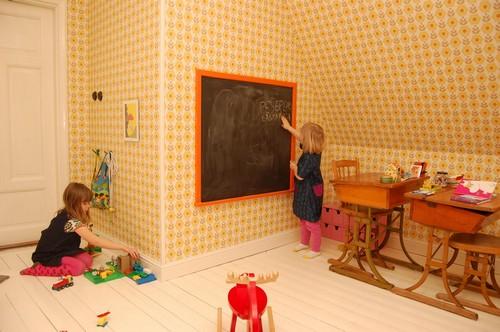 Идеи оформления игровой зоны в детской фото